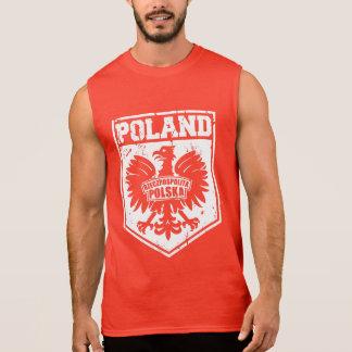 """""""Rzeczpospolita Polska"""" Republic of Poland Eagle Sleeveless Shirt"""