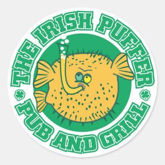 S105 - Irish Puffer Pub & Grill Sticker