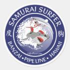 S105 - Samurai Surfer Sticker