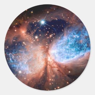 S106 Star Forming Region in Cygnus Round Sticker