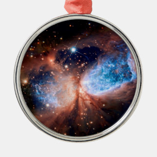 S106 Star Forming Region - NASA Hubble Space Photo Metal Ornament