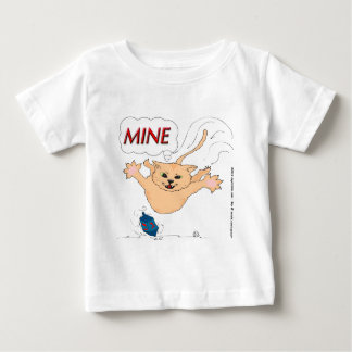 s11 Cat Pouncing on Hanukkah Dradle Baby T-Shirt