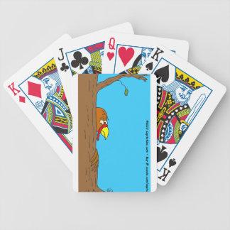 s13 acción de gracias Turquía que oculta detrás de Baraja Cartas De Poker