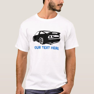 S13 black + your text T-Shirt