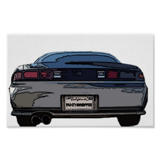 S14 Rear Poster