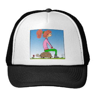 s15 Hannah sitting on turtle cartoon Trucker Hat