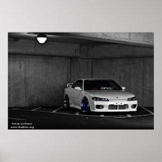 S15 Silvia reprint Photo By Joe Dantone Poster