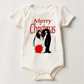 s17 Christmas Penguins Romper