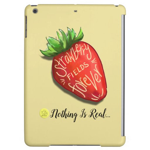 S190009 Strawberry Fields Forever iPad Cover