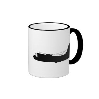 S2-Tracker Silhouette Coffee Mug