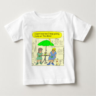 s3 Diet of Thin Mints Cartoon Baby T-Shirt