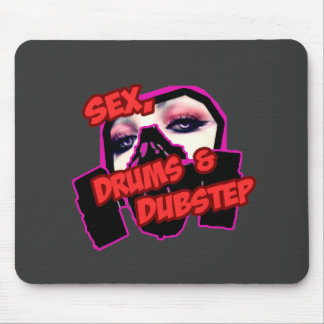 S3X DRUMS and DUBSTEP Mouse Pads