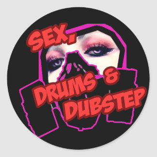 S3X DRUMS and DUBSTEP Sticker