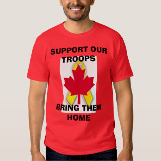 s45new, new canadian.gif, SUPPORT OUR TROOPSBRI... Shirt