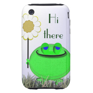 S4 Hi there froggie and daisy iPhone 3 Tough Cases