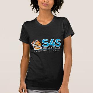 S4S  white on black T-shirt