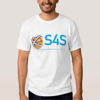 S4S  white on black Tee Shirt
