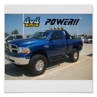 S5001501, 4x4-1, POWER!! Poster