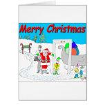 s5 Santa y dibujo animado de TSA - dibujo animado Felicitaciones