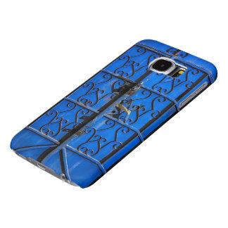 S6 Blue Steel Door Rustic vintage Jeddah Al Balad Samsung Galaxy S6 Cases