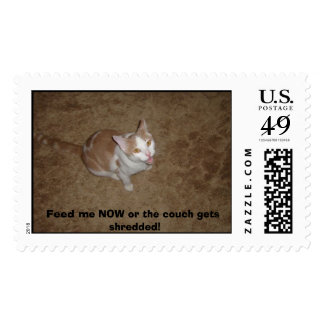 S7000120, Meow ! - Customized Postage Stamp