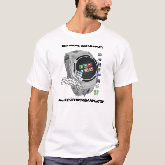 S760 CELL PHONE WATCH TECH SUPPORT TEE
