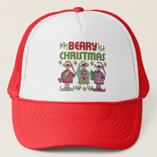 s 1st Christmas Trucker Hat