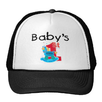 s 1st Happy Birthday Trucker Hat