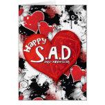 S.A.D. feliz Goth. Felicitacion