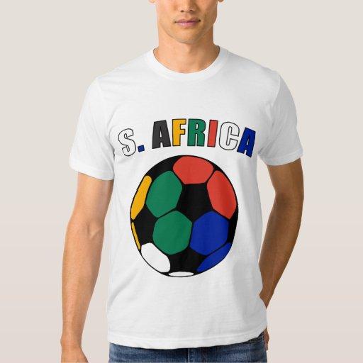 S. África Footy (luz) Camisas