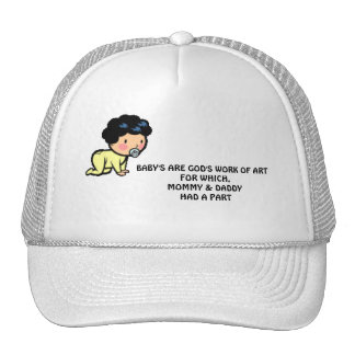S ARE GOD'S WORK TRUCKER HAT