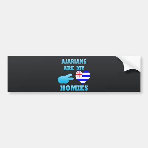 s are my Homies Bumper Sticker