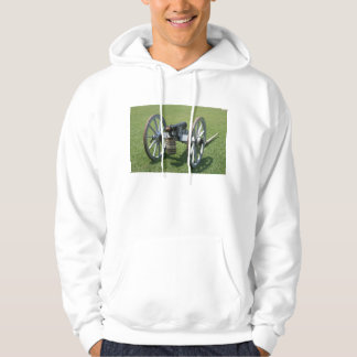 S. Augustine Fort canon II against grass Hoodie