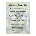 S. Augustine Fort canon II against grass Personalized Invitations