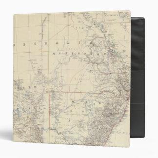 """S Australia, NSW, Victoria, Queensland Carpeta 1 1/2"""""""