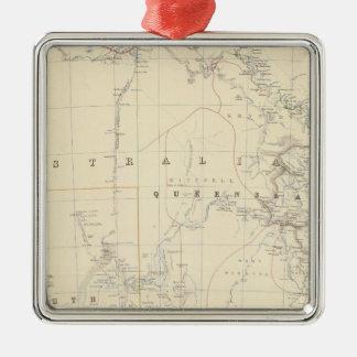S Australia, NSW, Victoria, Queensland Metal Ornament