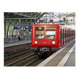 S - bahn Berlín, Alemania. Metro Postal