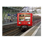 S - bahn Berlin, Germany. Metro. Post Card