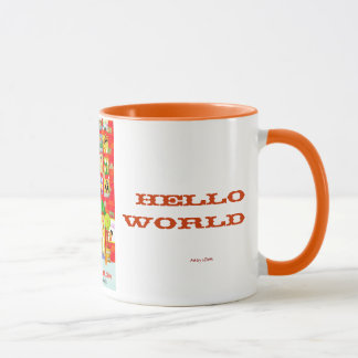 s.Britt Hello World mug