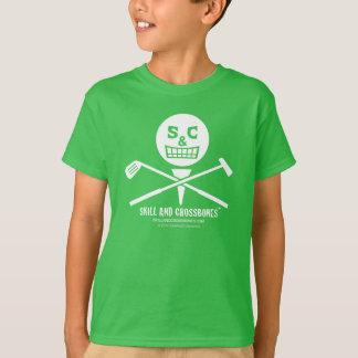 S&C Golf Kids on Dark Apparel T-Shirt