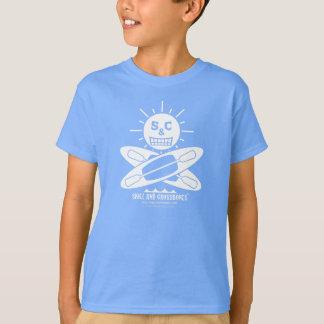 S&C Kayak Kids on Dark Apparel T-Shirt