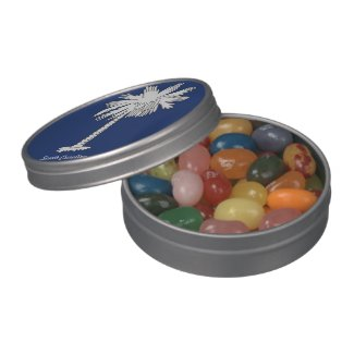 S.C. Metal Jelly Belly™ Peek-A-Boo Tin Jelly Belly Tin