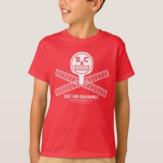 S&C Ping Pong Kids on Dark Apparel T-Shirt
