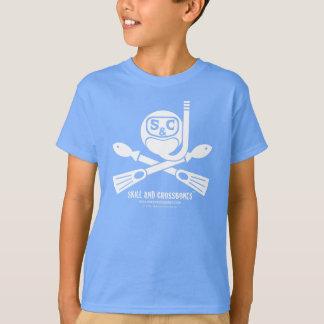 S&C Snorkeling Kids on Dark Apparel T-Shirt