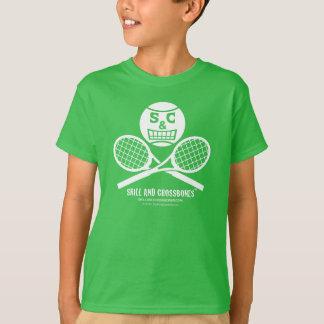 S&C Tennis Kids on Dark Apparel T-Shirt