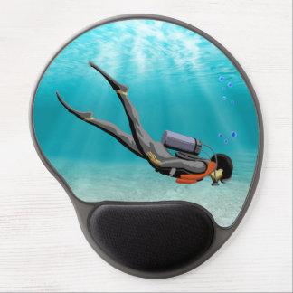 S.C.U.B.A. Diver Gel Mouse Pad