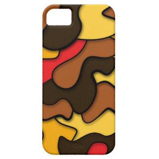 s Camouflage Seventies Camo iPhone SE/5/5s Case