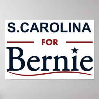 S. Carolina for Bernie Poster
