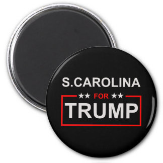 S. Carolina for Trump 2 Inch Round Magnet