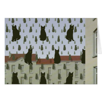 s Cats Note Card